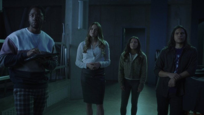 the flash - mother review - chester, caitlin, allegra and cisco