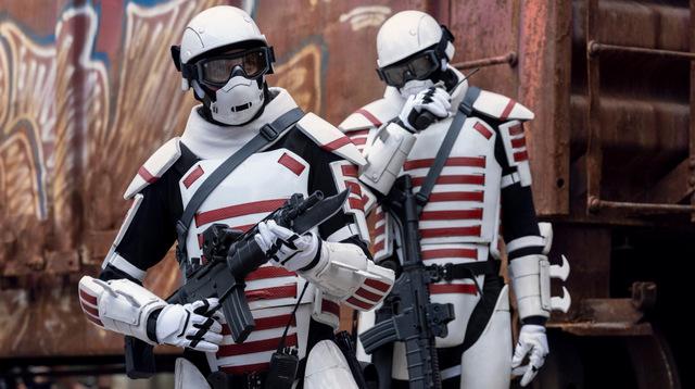 the walking dead splinter review - troopers