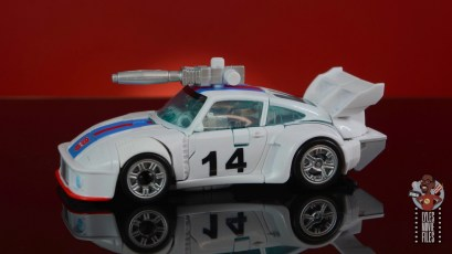 transformers studio series 86 jazz figure review - car mode left side with gun on roof
