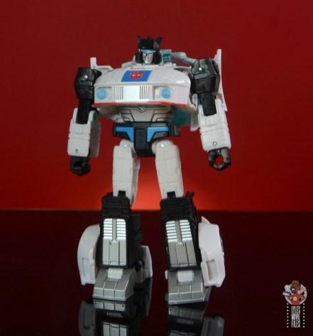 transformers studio series 86 jazz figure review - robot mode front