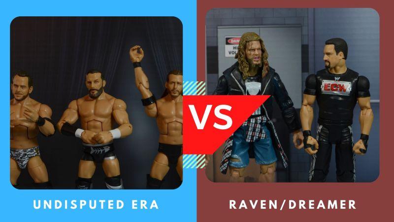 undisputed era vs dreamer raven