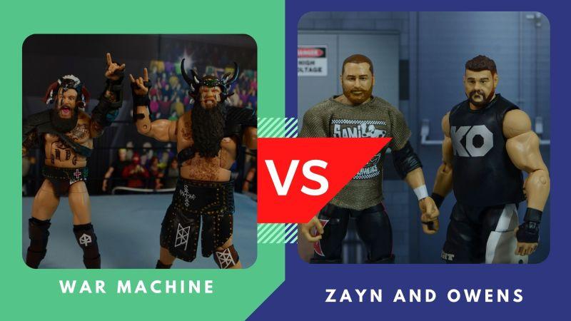war machine vs zayn and owens