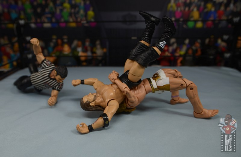 wwe elite 78 matt riddle figure review - german suplex to adam cole