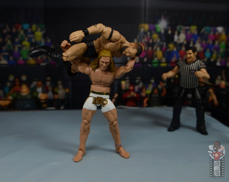 wwe elite 78 matt riddle figure review - go to sleep to finn balor