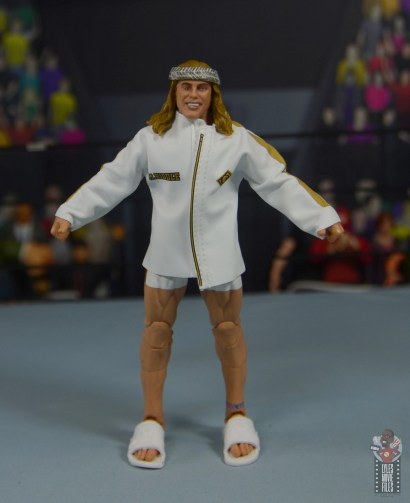 wwe elite 78 matt riddle figure review - ring gear front