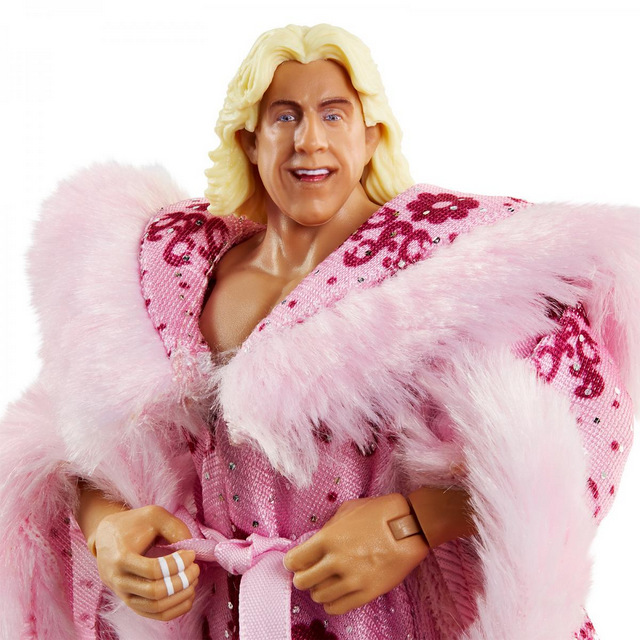 wwe ultimate edition ric flair -close up