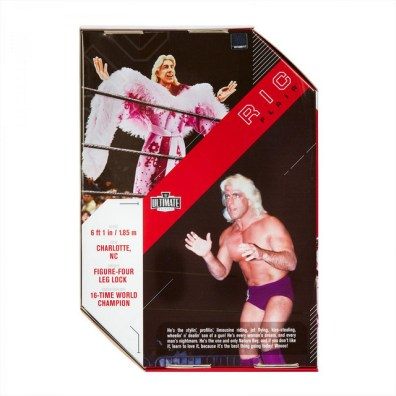 wwe ultimate edition ric flair -package rear