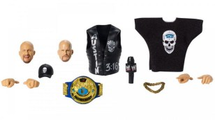 wwe ultimate edition stone cold steve austin - accessories