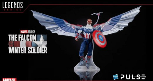 Hasbro Pulse Fan First Monday - captain america wings and redwing