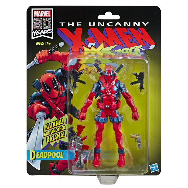 MARVEL LEGENDS SERIES 80TH ANNIVERSARY 6-INCH DEADPOOL Figure - in pck