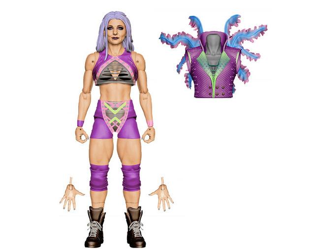 Mattel WWE Wrestlemania 2021 figure reveals elite 87 -candace larae
