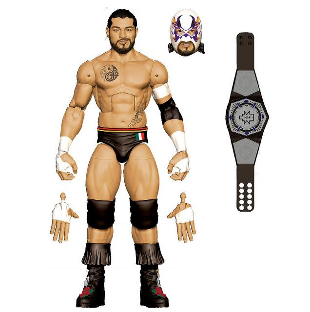 Mattel WWE Wrestlemania 2021 figure reveals elite 87 - escobar