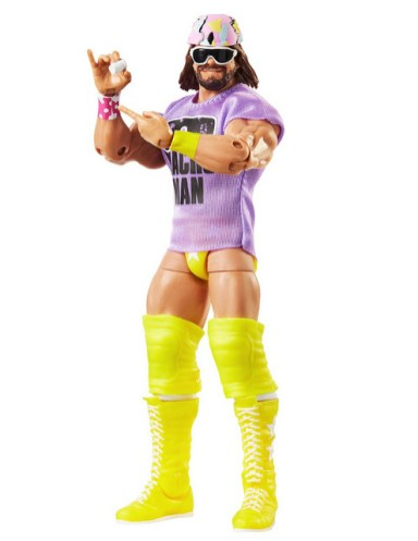 Mattel WWE Wrestlemania 2021 figure reveals legends 11 - macho man chase