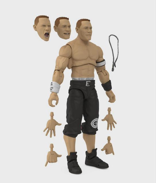 Mattel WWE Wrestlemania 2021 figure reveals ultimate edition john cena