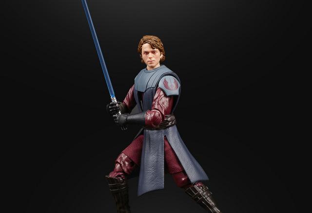 Hasbro reveals Star Wars Black Series Clone Wars Anakin Skywalker, Obi-Wan Kenobi figures