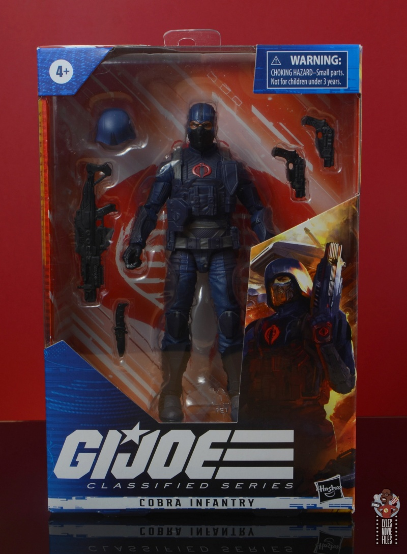 gi joe classified cobra infantry review -front package