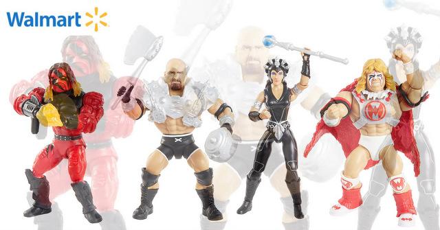 mattel wwe wrestlemania 2021 figure reveals - masters of the universe wave 6