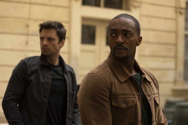 the falcon and the winter soldier - power broker review - bucky and sam