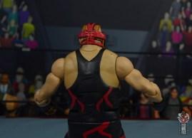 wwe legends 10 big van vader figure review - red mask rear