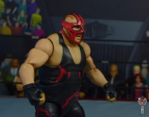 wwe legends 10 big van vader figure review - red mask right side