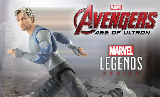 Avengers Infinity Saga Marvel Legends Series Quicksilver figure -main pic