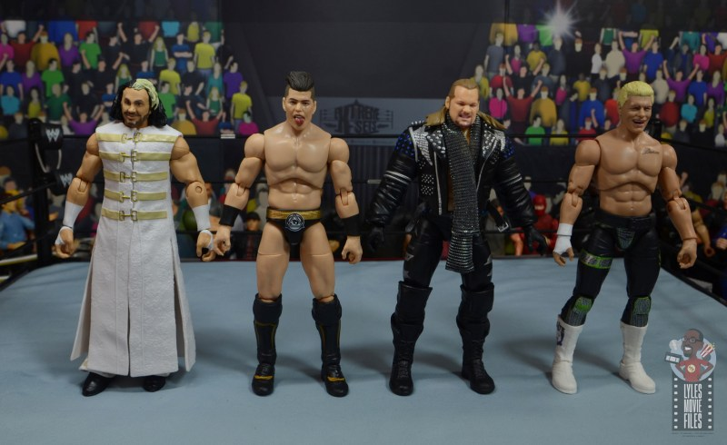 aew unrivaled series 4 sammy guevara review - scale with matt hardy, chris jericho and cody