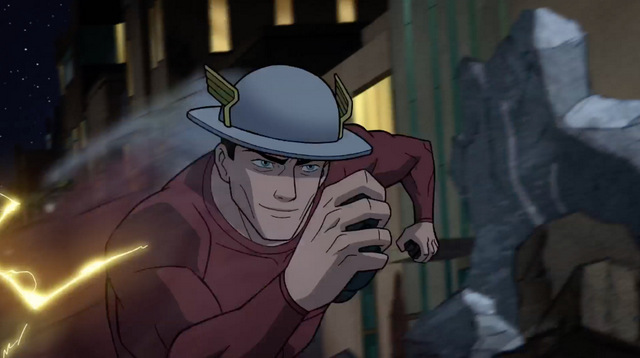 justice society of america world war ii review - jay garrick flash