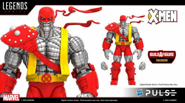 marvel legends age of apocalypse wave 2 - baf colossus