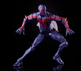 marvel legends spider-man 2099 - bracing for attack