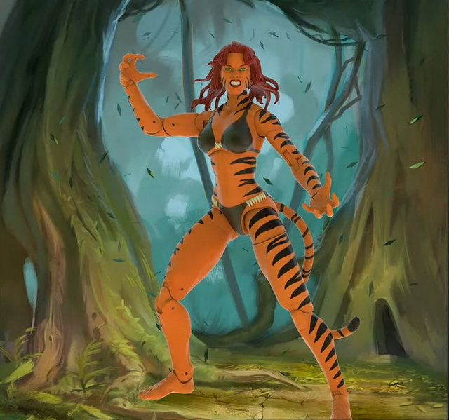 marvel legends tigra