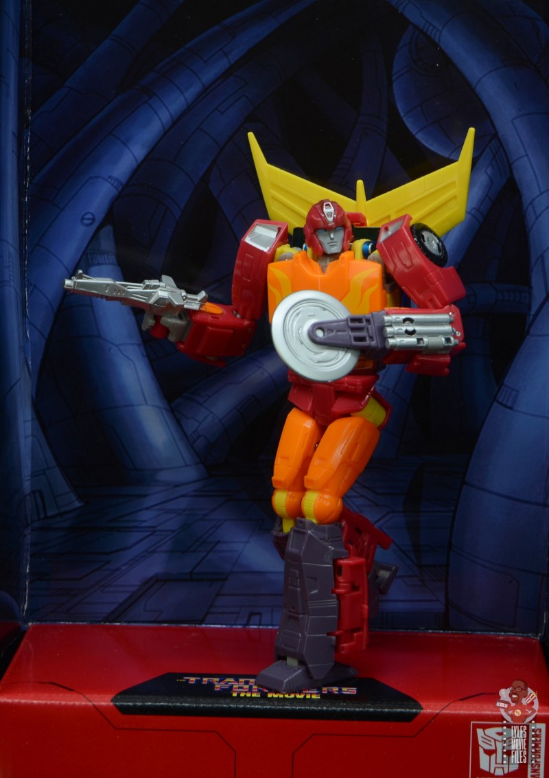 transformers studio series 86 hot rod review - in unicron's caverns