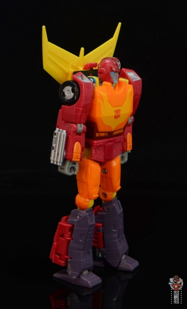 transformers studio series 86 hot rod review - right side