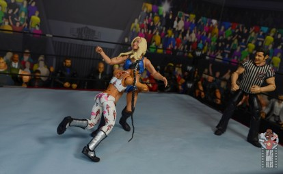 wwe elite bianca belair review - spear to charlotte flair