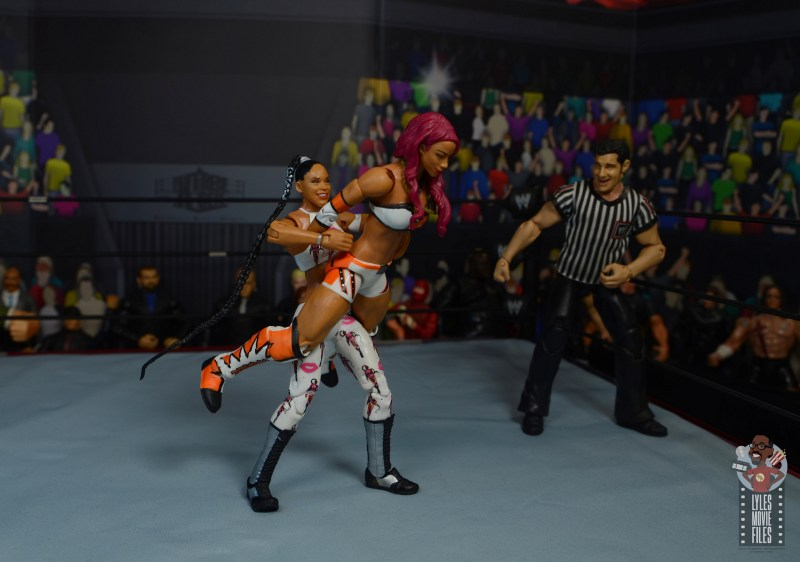 wwe elite bianca belair review - spinebuster