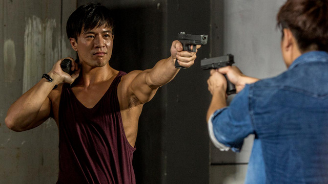 UNDERCOVER PUNCH and GUN-review - Ha