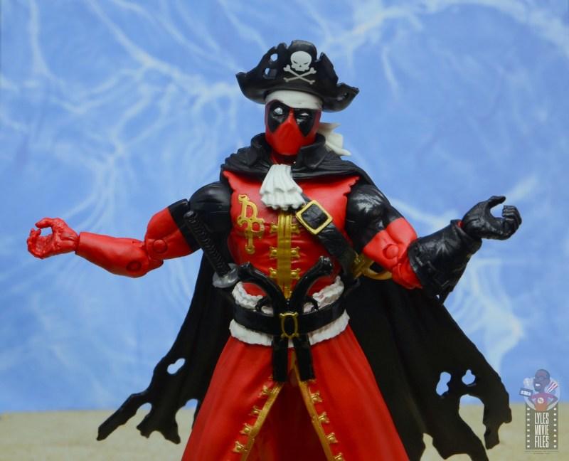 marvel legends pirate deadpool review - big shrug