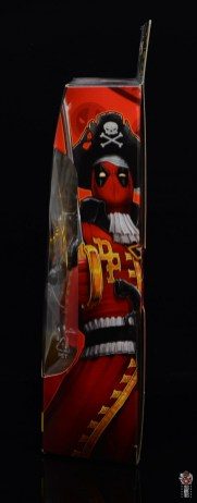 marvel legends pirate deadpool review - package side