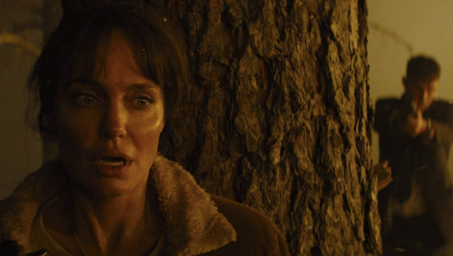 those who wish me dead review -angelina jolie and nicholas hoult