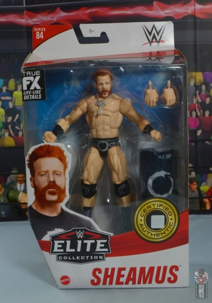wwe elite 84 sheamus review - package front