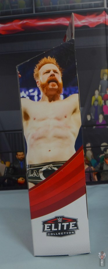 wwe elite 84 sheamus review - package right side