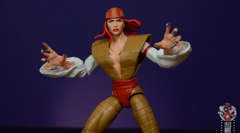 marvel legends lady deathstrike review - main pic