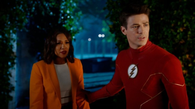 the flash pow review - iris and the flash