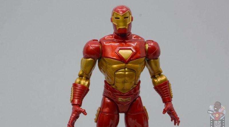 marvel legends modular armor iron man review - main pic
