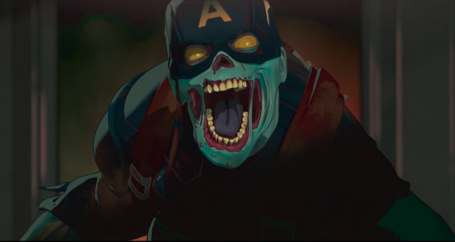 what if zombies - zombie captain america