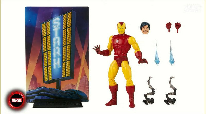 Hasbro Pulse Con 2021 - DAY TWO - marvel legends 20th anniversary iron man with accessories