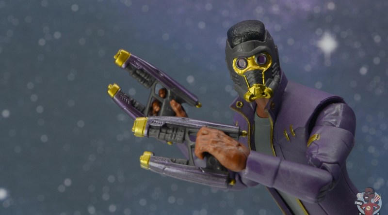 marvel legends t'challa star-lord review - main action pic