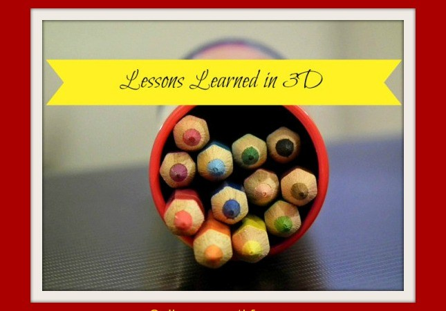 Lessons Learned in 3-D:  Fall Revisited