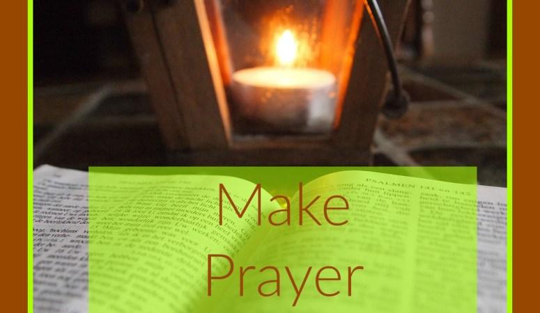 Make Prayer Your Habit