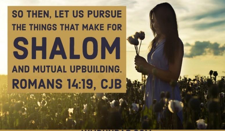 4 Ways to Speak Shalom
