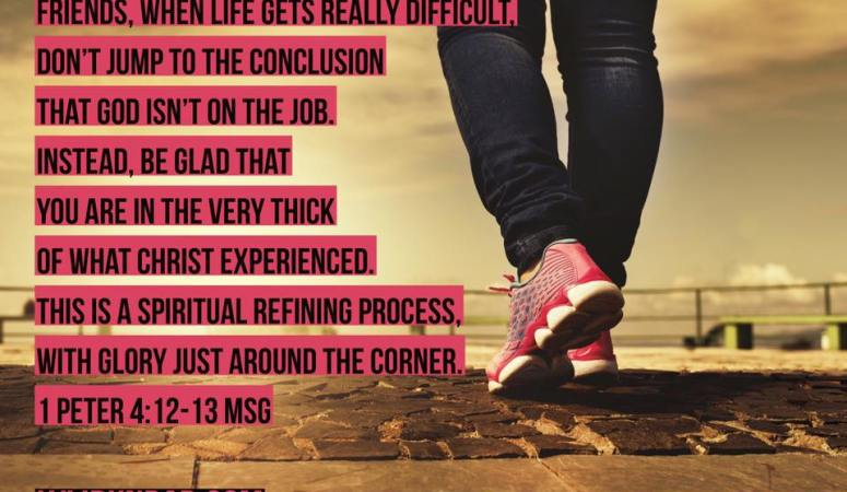 Finding Purpose in the Painful Process